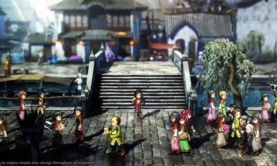 Eiyuden Chronicles Hundred Heroes tembus target Kickstarter